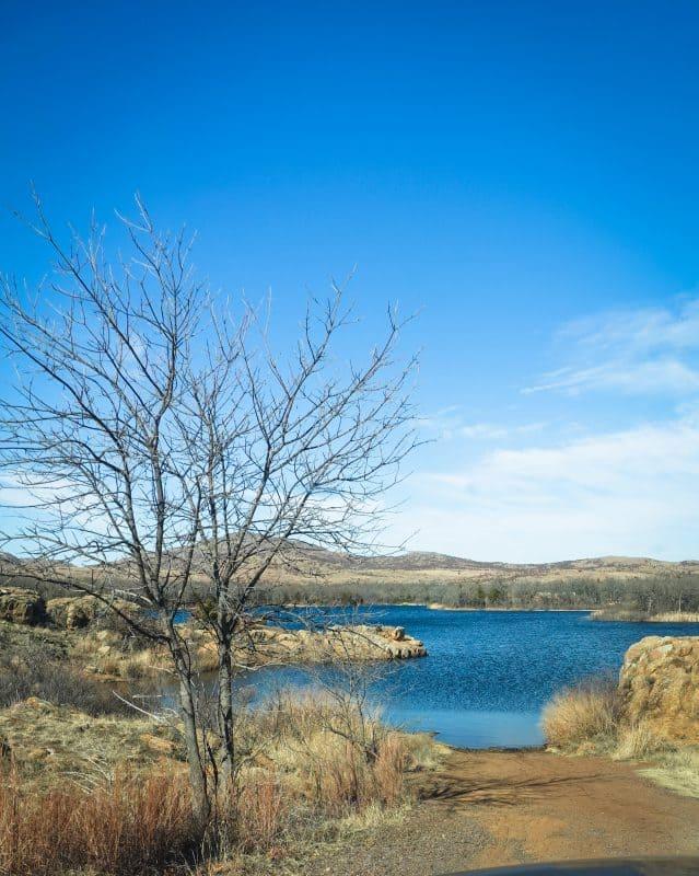 Oklahoma - Wichita Mountains Wildlife Refuge - Quanah Parker Lake