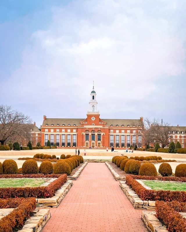 Oklahoma - Stillwater - Edmond Low Library - Oklahoma State University Campus