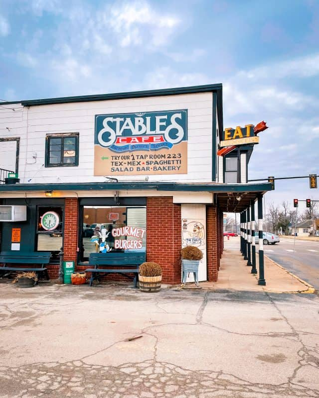 Oklahoma - Guthrie - Stables Cafe