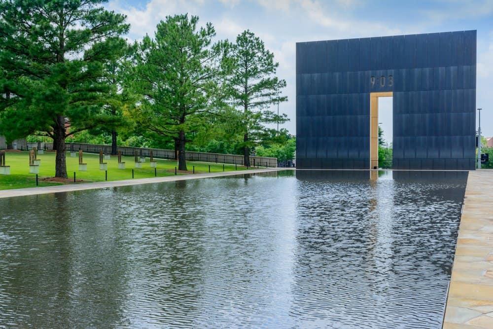USA - Oklahoma -Oklahoma City national memorial