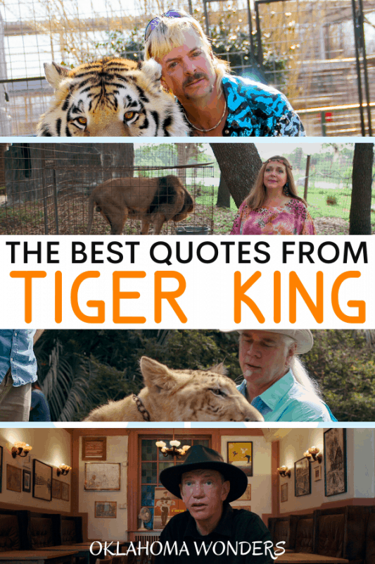 Best Quotes from Tiger King_ Murder, Mayhem and Madness