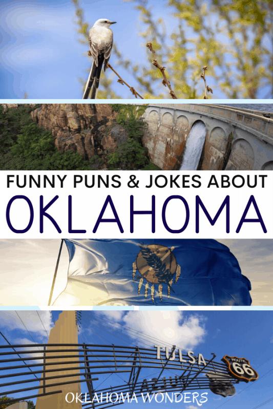 Oklahoma Puns for Oklahoma Instagram Captions