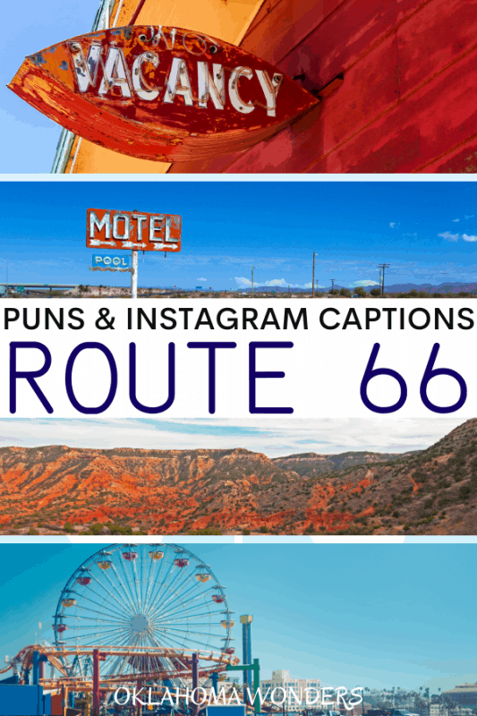 Route 66 Puns for Route 66 Instagram Captions