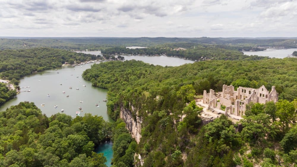 Missouri - Lake of the Ozarks - Lake of the Ozarks Castle Ruins