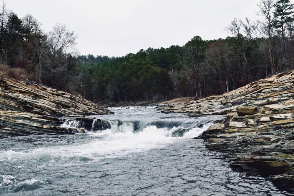 Oklahoma - Mountain Fork River, Oklahoma