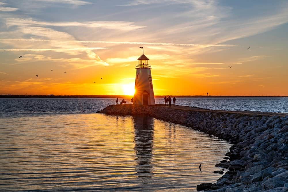 Oklahoma - Lake Hefner Lighthouse - Oklahoma City, OK