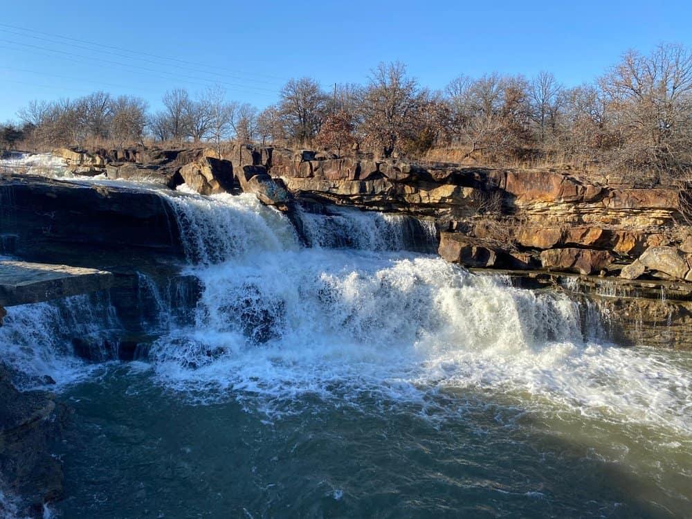 Oklahoma - Pawhuska - Blue stem falls found in northeast oklahoma