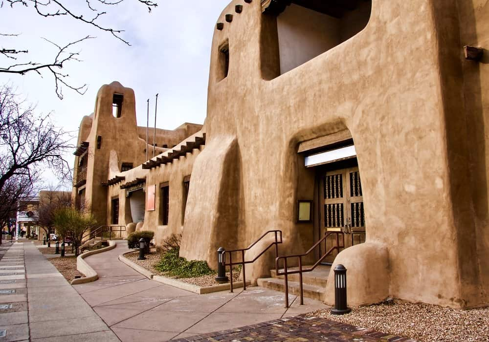 USA - New Mexico - New Mexico Museum of Art, Santa Fe, New Mexico USA