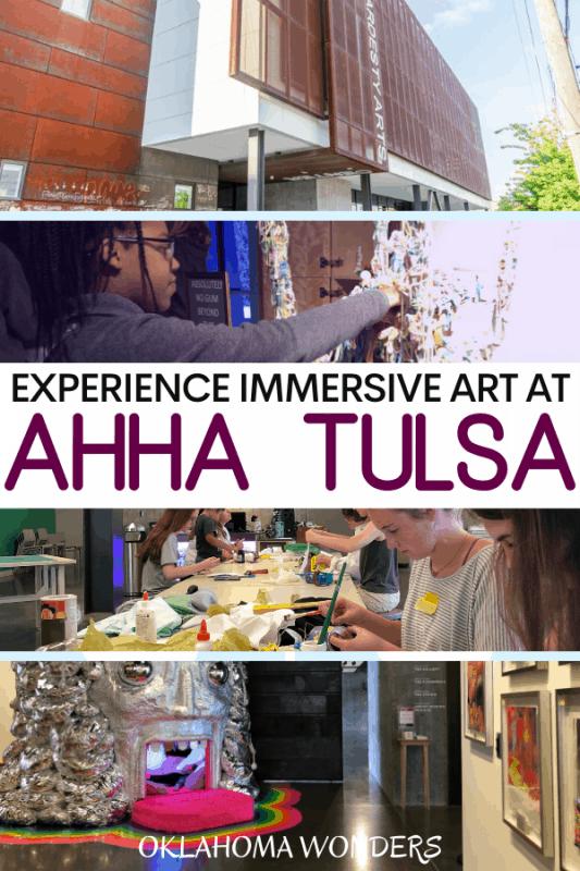 Visit ahha Tulsa an Immersive Art Museum in Tulsa, Oklahoma
