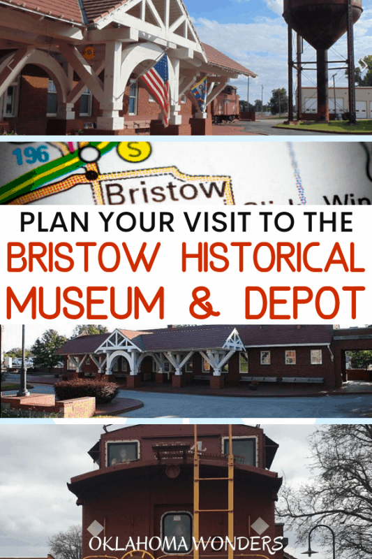 Visit the Bristow Historical Museum & Depot