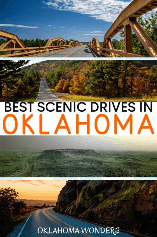 The Best Oklahoma scenic drives in Oklahoma