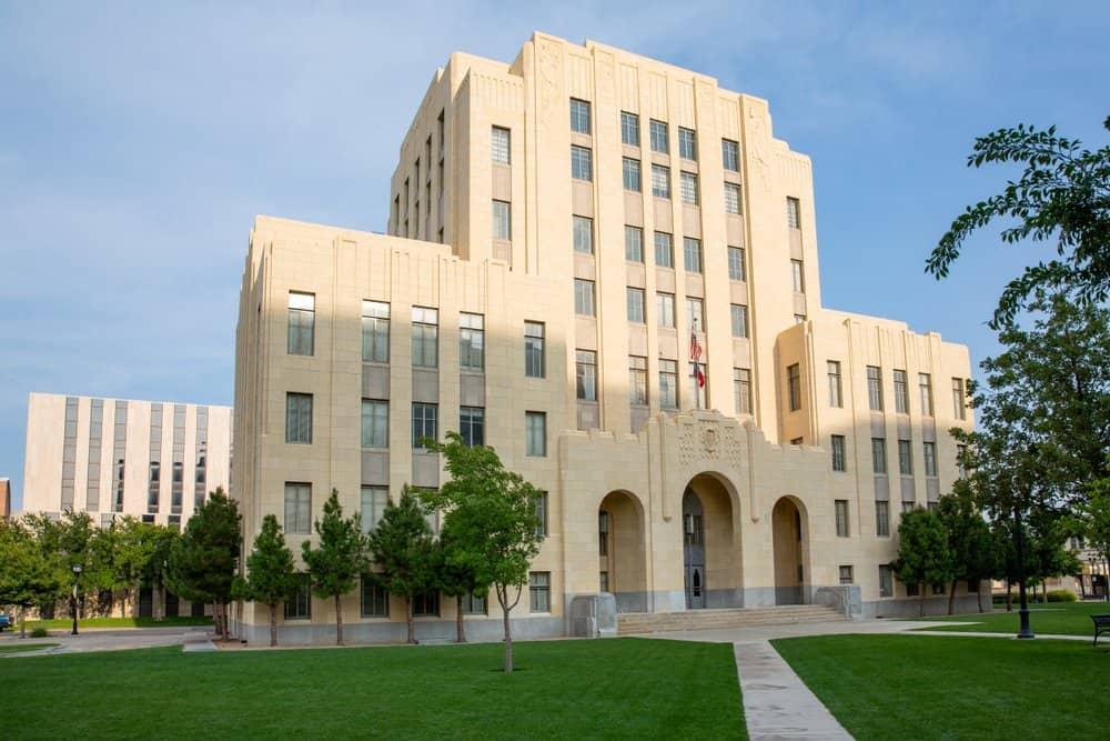 USA - Texas - Amarillo - Historic City Hall of Amarillo, Texas, USA