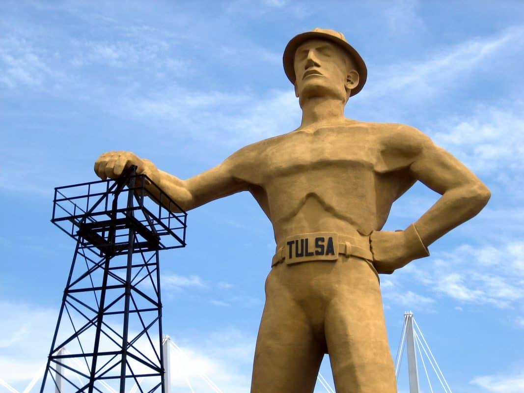 Golden Driller, Tulsa, Oklahoma