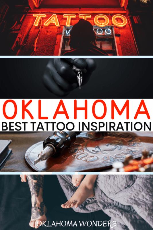 Oklahoma Tattoos and Oklahoma Inspired Tattoos