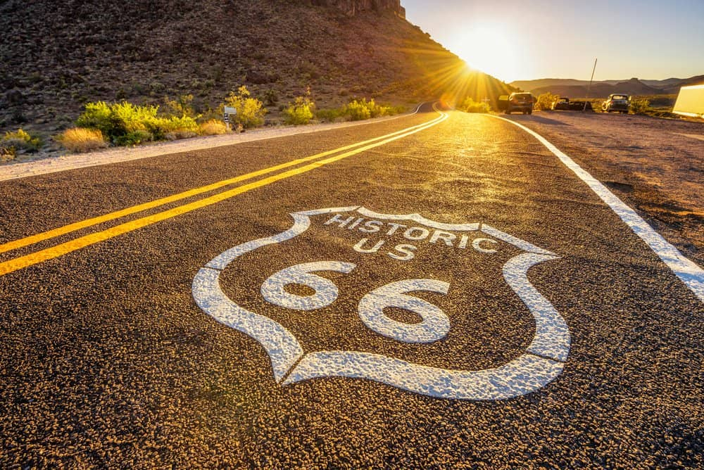 US - Route 66 Road