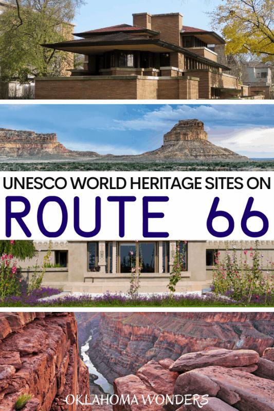 UNESCO World Heritage Sites on Route 66