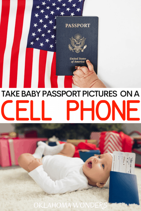 How to Take a Baby Passport Picture with a Cell Phone