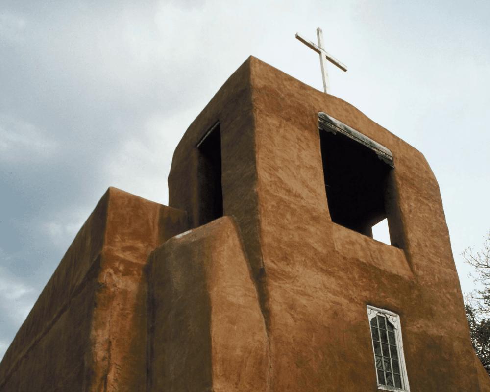 San Miguel Chapel Santa Fe New Mexico