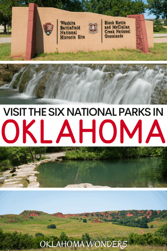 The 6 National Parks in Oklahoma: Why & How to Visit Each One!
