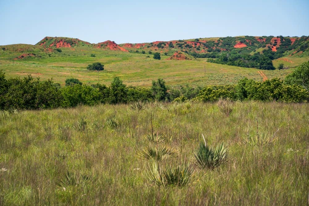 USA - Oklahoma - The Landscape of Washita Battlefield National Historic Site