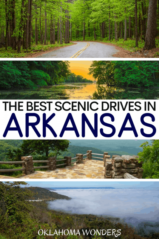 17 Astounding Arkansas Scenic Drives to Get Out & Explore the Natural State