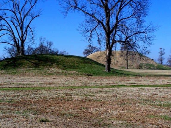 USA - Arkansas - toltec mounds archeological state park