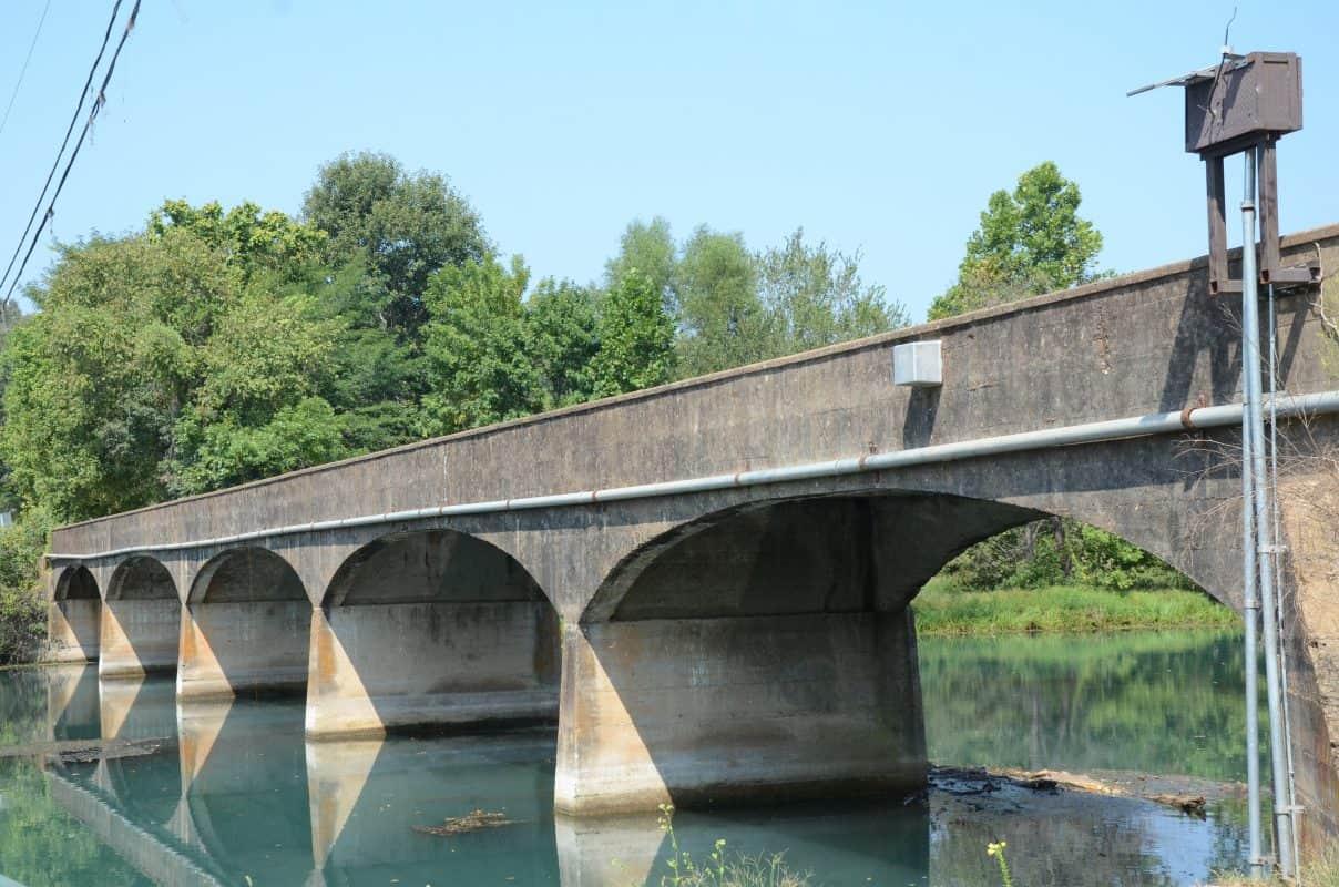 USA - Arkansas - Spring River Bridge