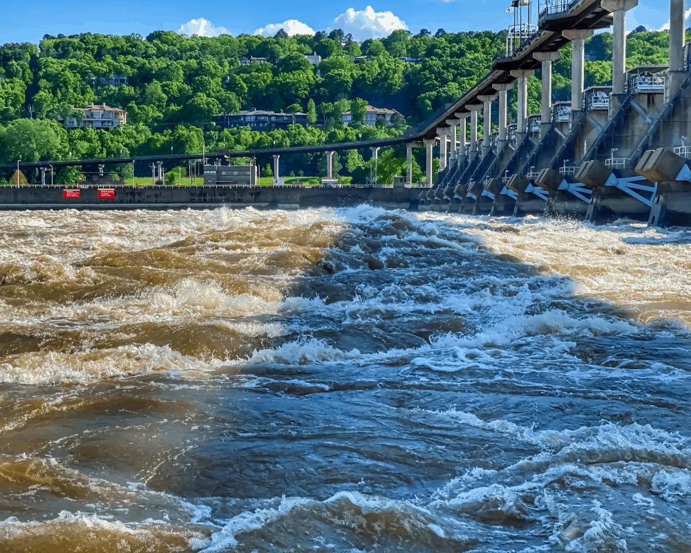 USA - Arkansas - Big Dam Bridge