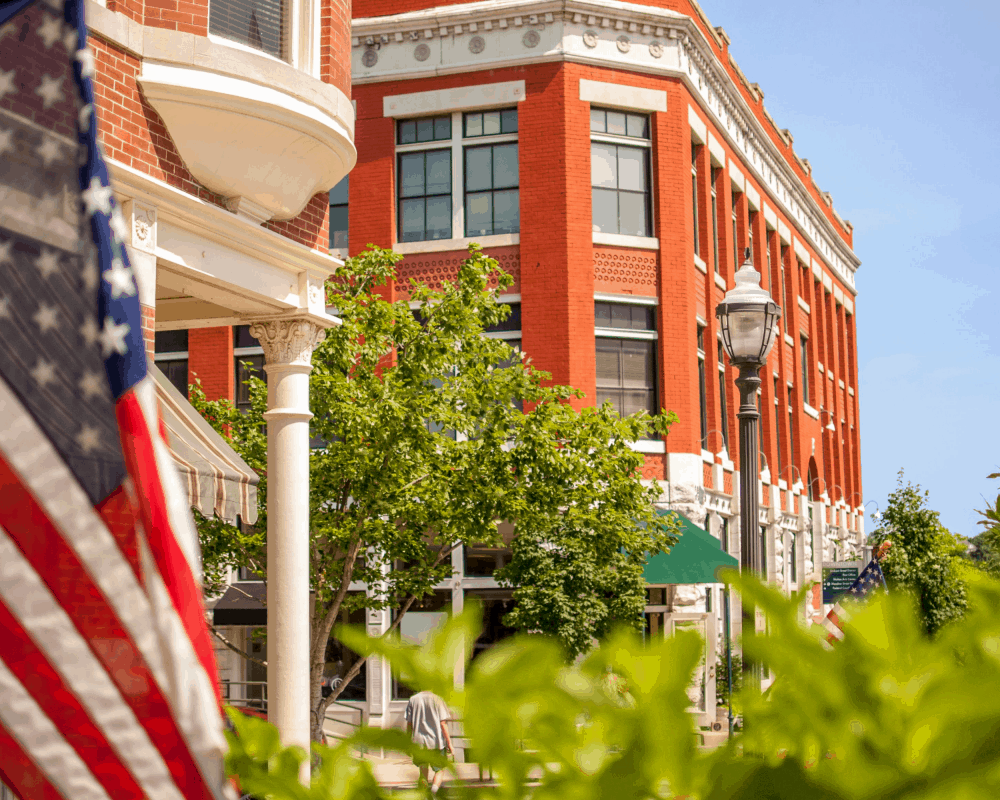USA - Arkansas - Downtown Fayetteville