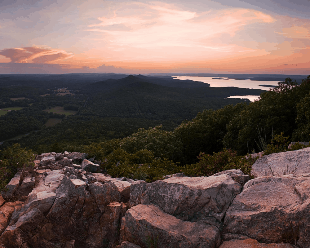 USA - Arkansas- Pinnacle Mountain