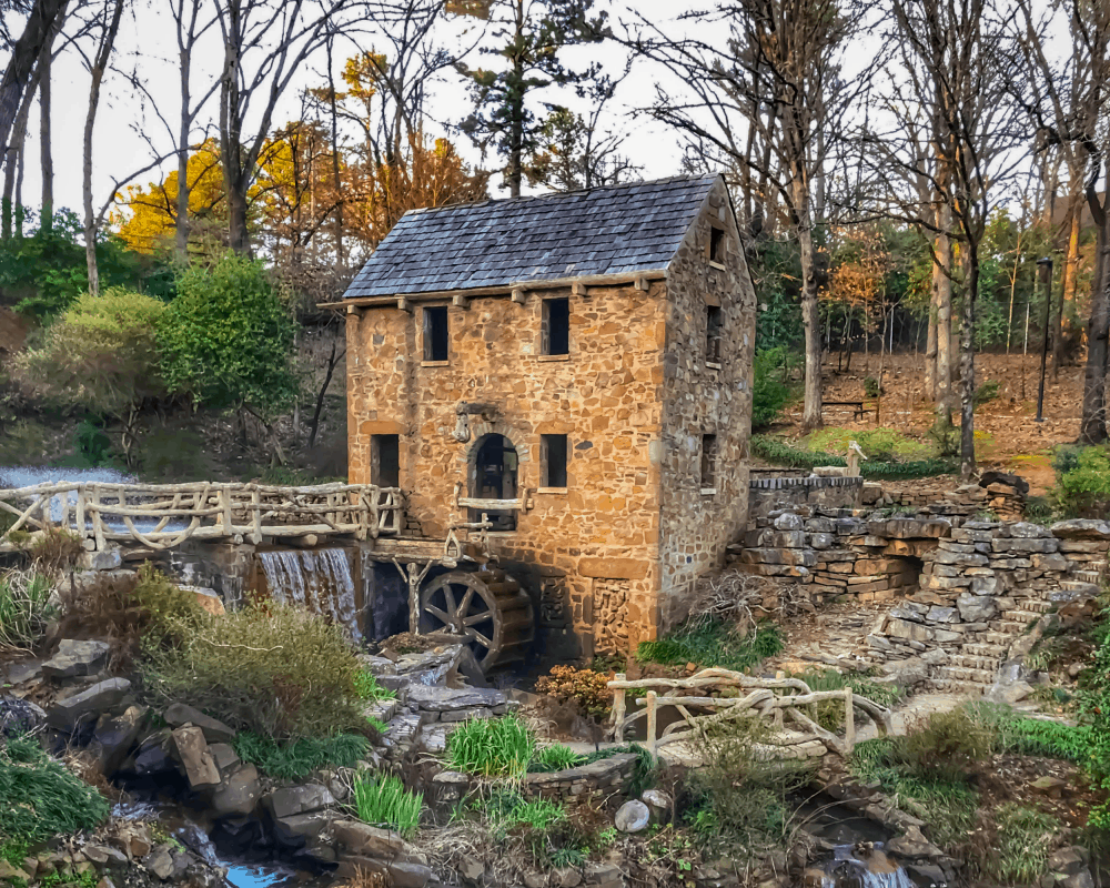 USA - Arkansas - The Old Mill in North Little Rock