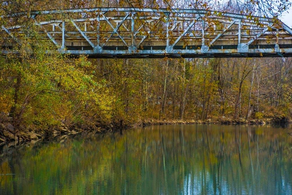 USA - Arkansas - Steele Vintage Bridge Mulberry River