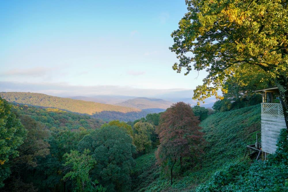 USA - Arkansas - View along Boston Mountains Scenic Loop in Arkansas
