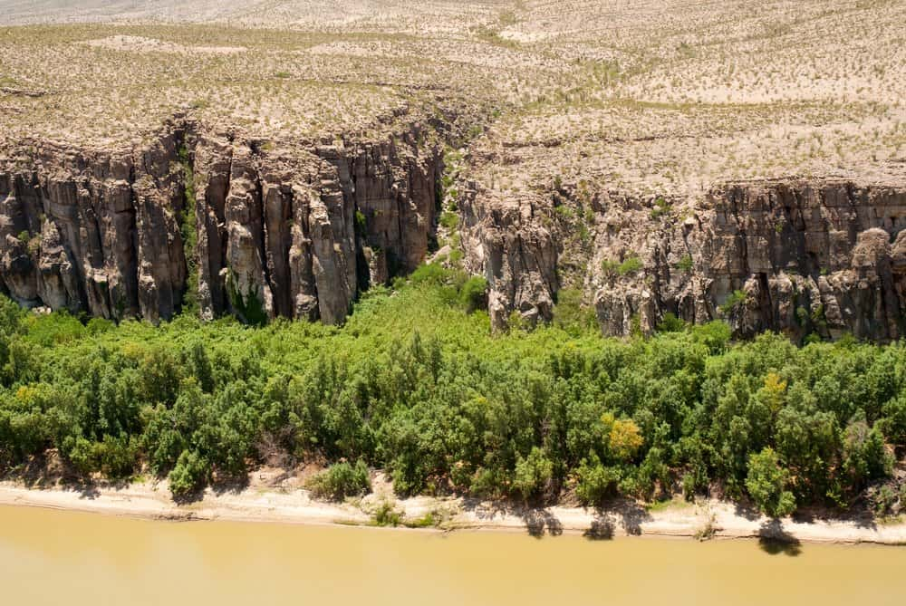 USA - Texas - Rio Grande Wild and Scenic River in Hot Springs Canyon