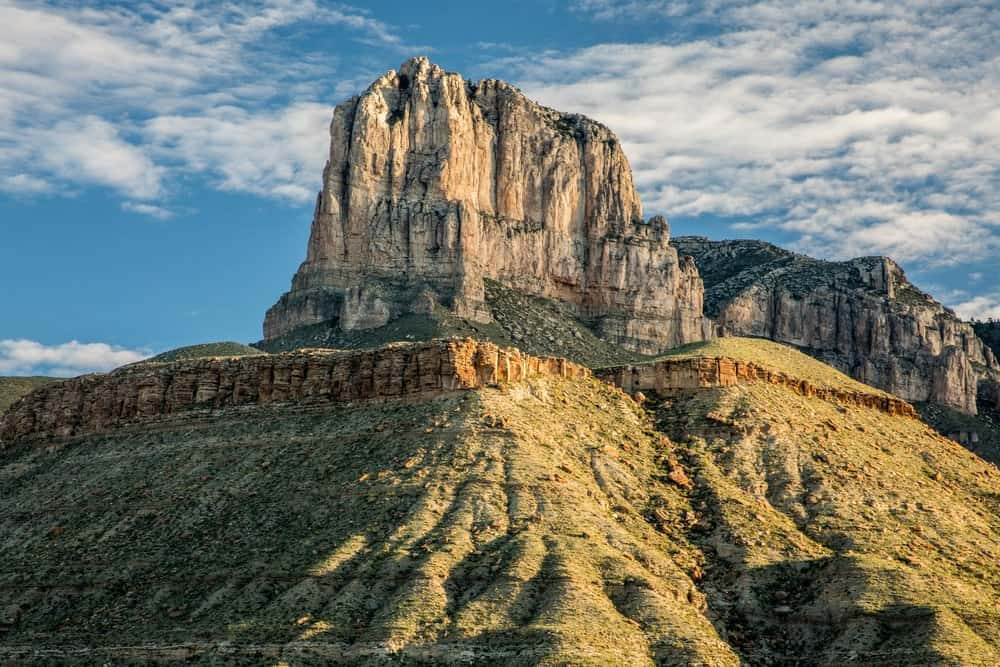 USA - Texas - El Capitan of Guadalupe Mountains National Park at sunrise