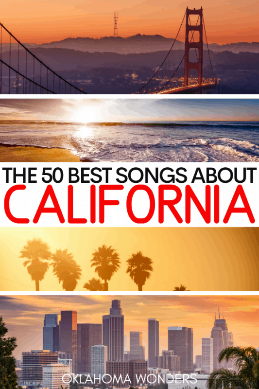 Songs about California Playlist