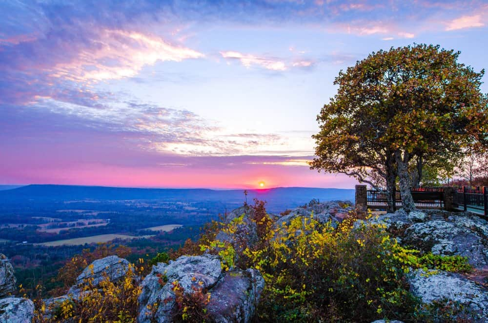 USA - Arkansas - Petit Jean Mountain State Park in ARkansas state of US.