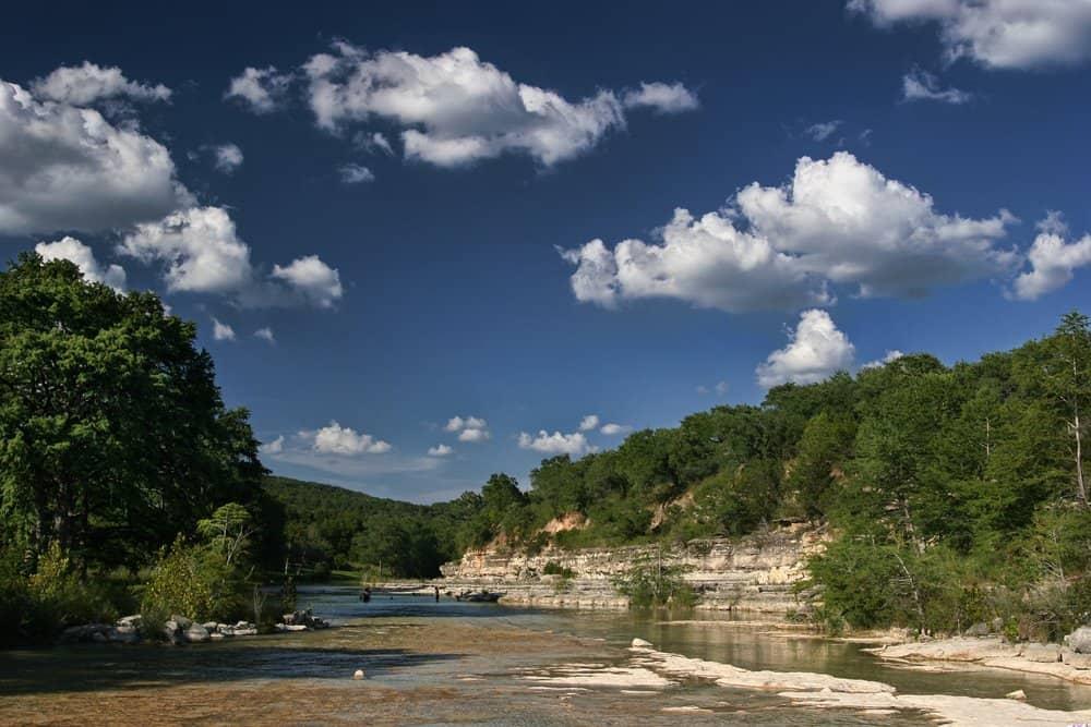USA - Texas - Blanco River, Wimberley TX
