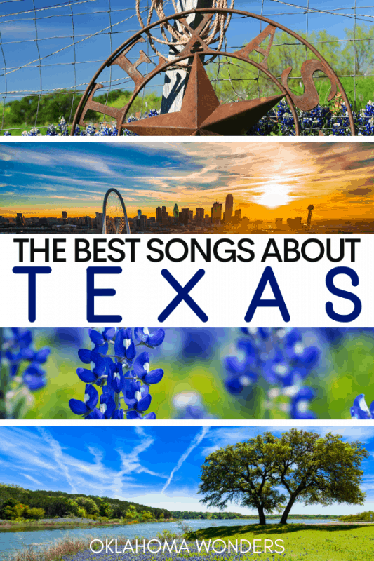 Songs about Texas playlist