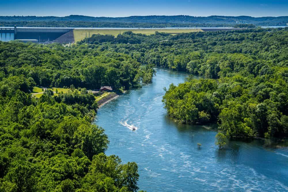 USA - Missouri - Table Rock Lake in Branson at Southwest Missouri