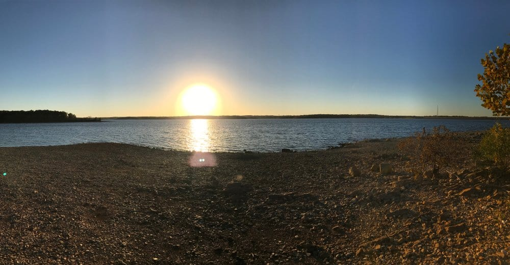 USA - Missouri - Sunset, Stockton Lake Missouri