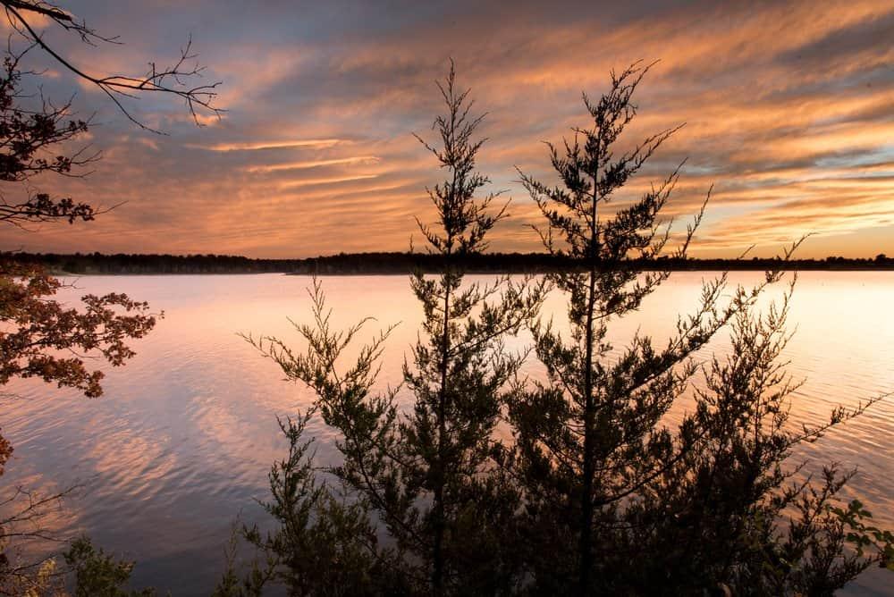 USA - Missouri - Sunset at Fellows Lake, Springfield, Missouri
