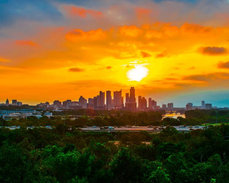 Austin, Texas - Canva