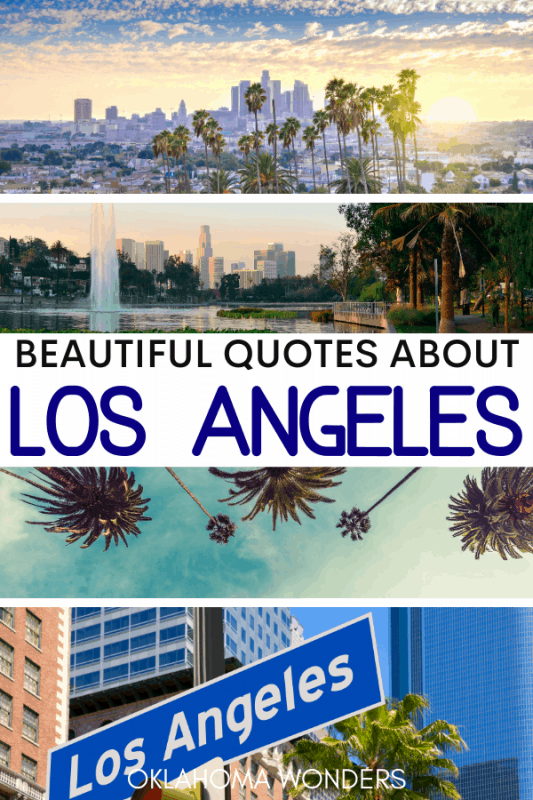 Quotes about Los Angeles Instagram Captions