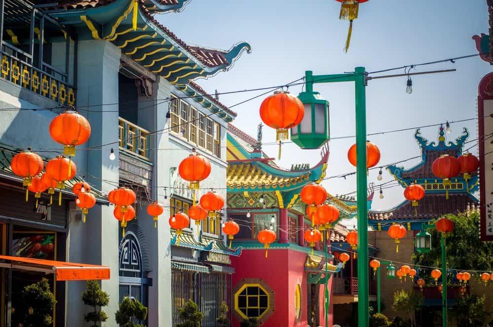 California - Cinatown, Los Angeles, California