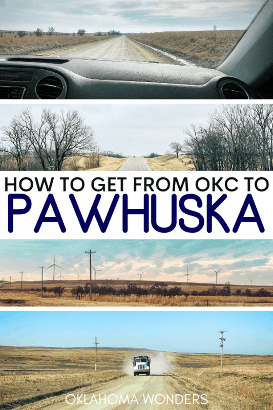 How to Get to Pawhuska from Oklahoma City