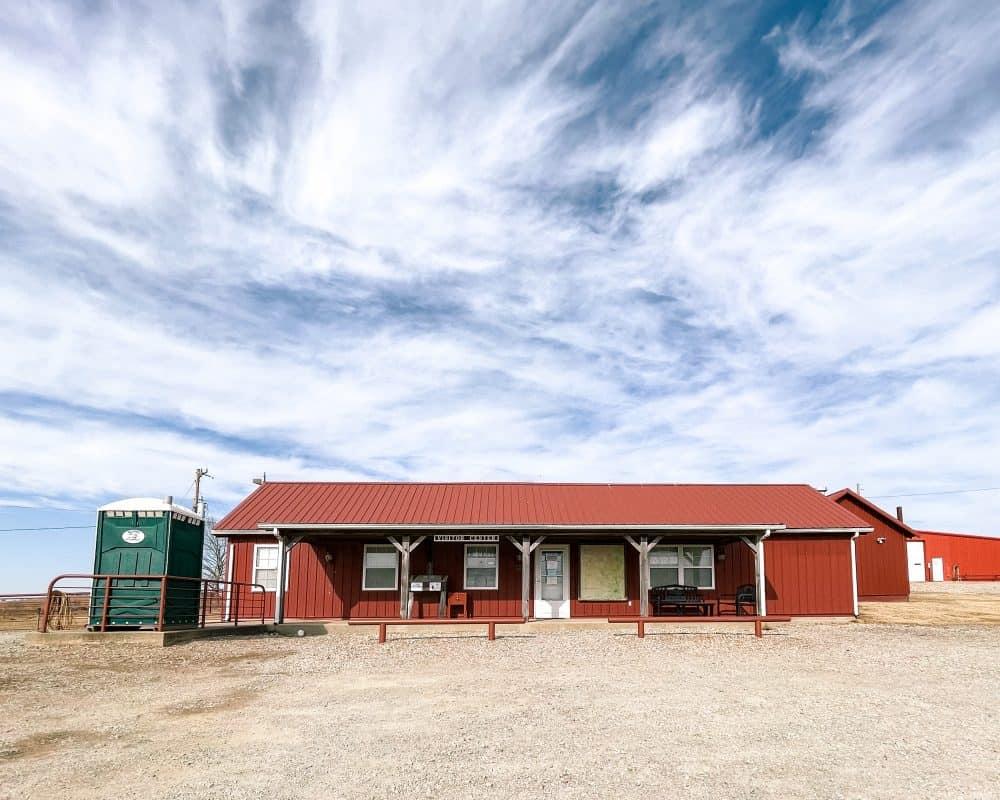Oklahoma - Pawhuska - Tallgrass Prairie Preserve - Visitor Center