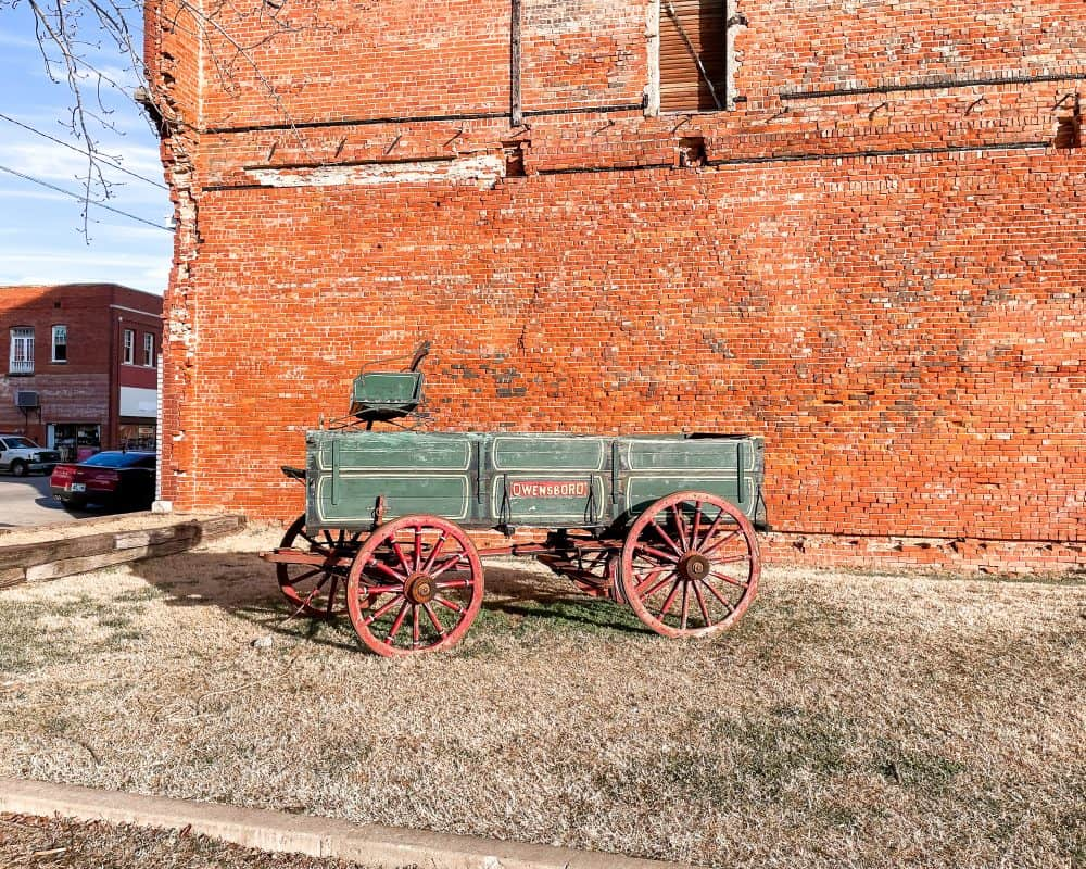 Oklahoma - Pawhuska - The Mercantile Wagon
