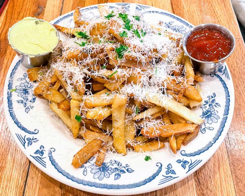Oklahoma - Pawhuska - The Mercantile Parmesian French Fries