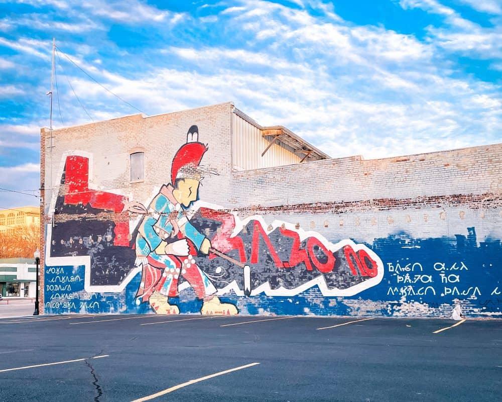 Oklahoma - Pawhuska - Osage Mural